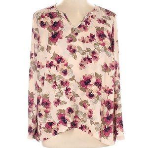 Krazy Kat floral blouse.